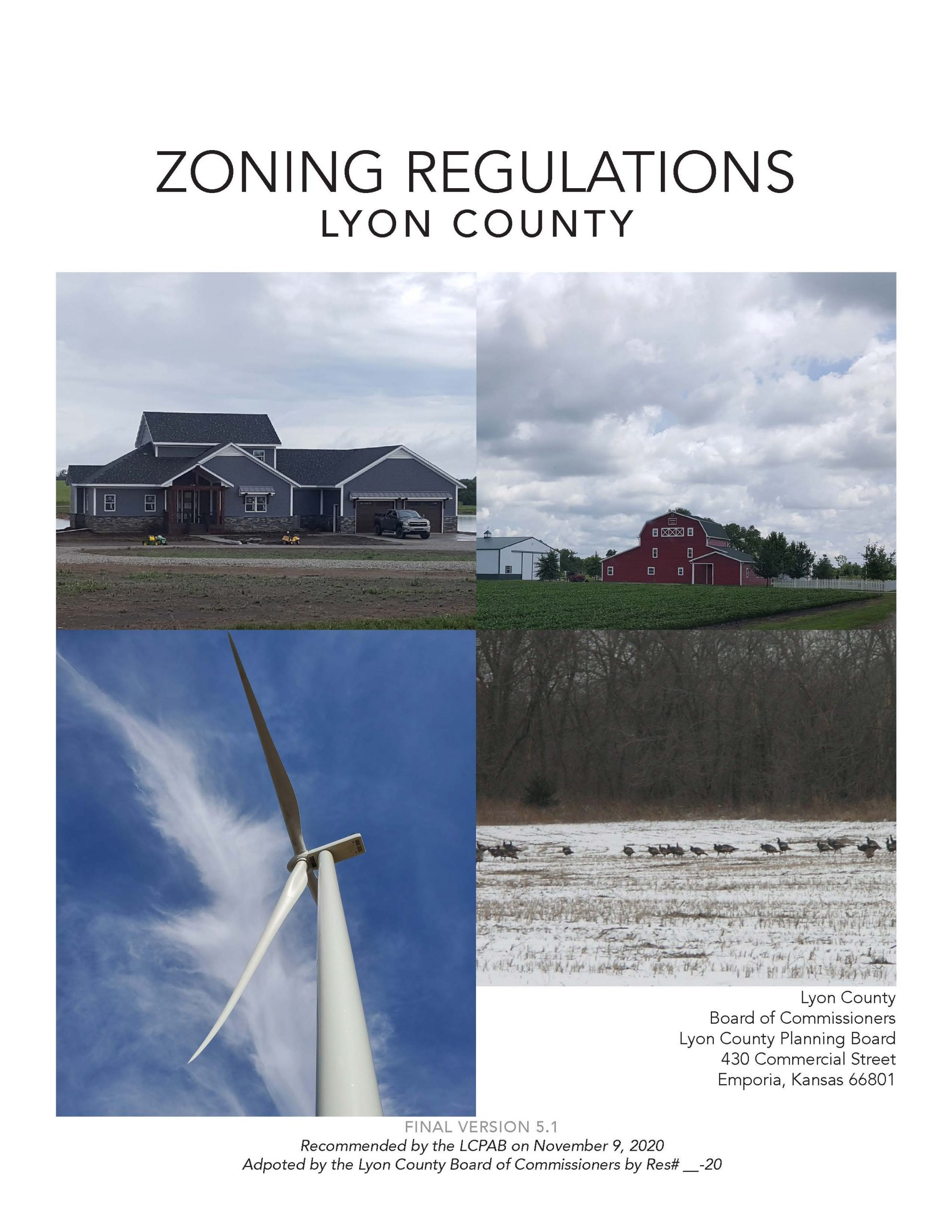 New Zoning Regulations Draft