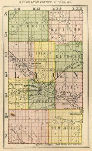 Lyon County Map